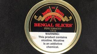 Обзор трубочнго табака Bengal Slices   Bengal Slices re release