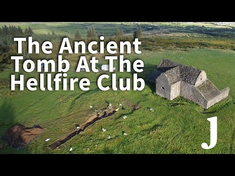 Archaeologists Explore An Ancient Tomb Beside The Hellfire Club