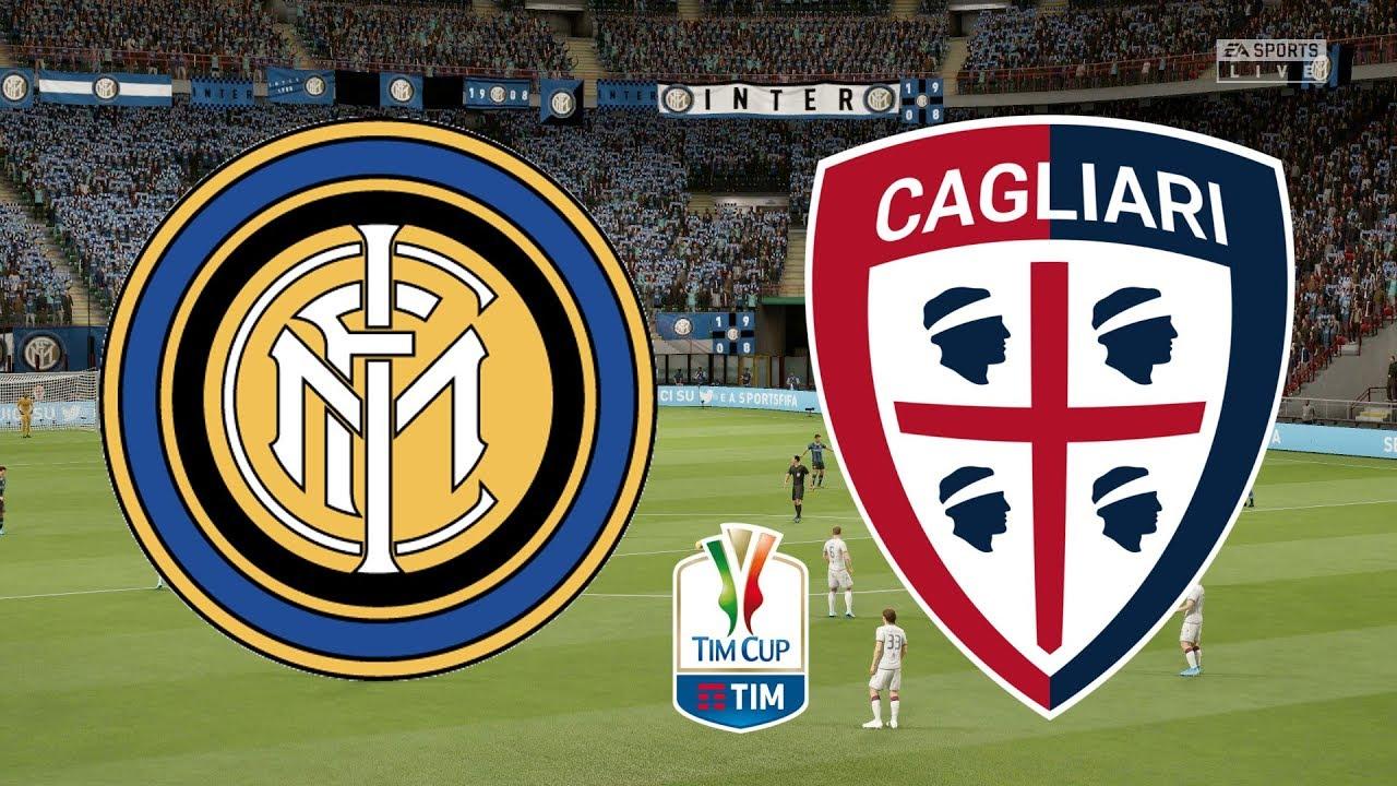 Coppa Italia  Inter Milan Vs Cagliari
