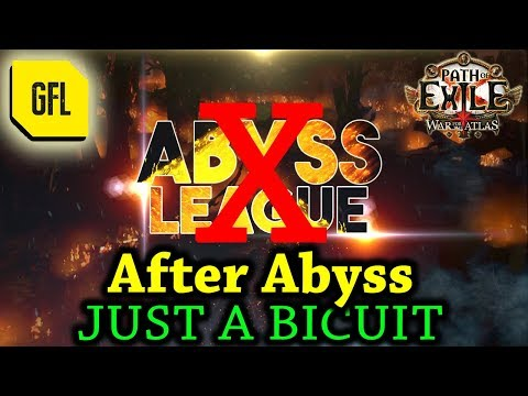 Path Of Exile 3.1: After Abyss, Just A Biscuit. :)