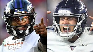 Stephen A. and Max preview the AFC Divisional Playoffs: Ravens vs. Titans | First Take