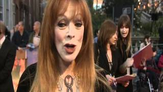 Frances Fisher's Quick Minute at London's Titanic 3D Premiere - Celebs.com