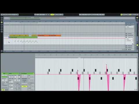 Pitch Bends with MIDI Notes - Ableton Live...