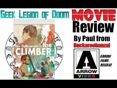 THE CLIMBER ( 1975 Joe Dallesandro ) B-Movie Review 2017 Arrow release