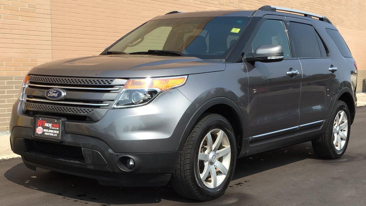 Ford Explorer Limited >> 2014 Ford Explorer Limited 4WD - Leather, Nav, Powerfold ...