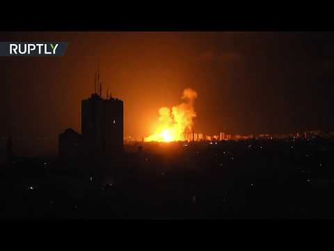 RAW: Israel launches airstrikes over Gaza