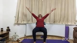 31-03-2021 - Hatha Yoga With Bhavnaben Jogi