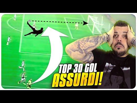 30 GOAL più ASSURDI nella STORIA DEL CALCIO !!!