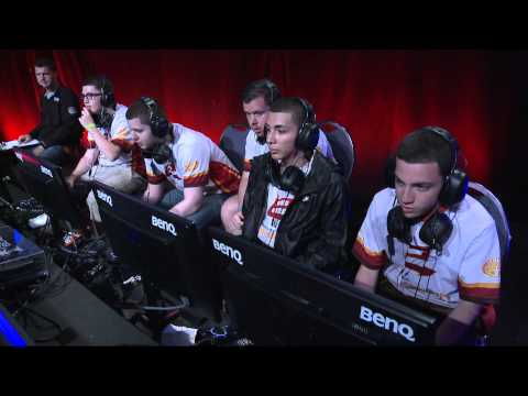 OpTic Gaming Vs Icons Evil - Game 1 - CWR1 - MLG Anaheim 2013