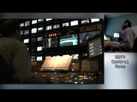 EXTRA: Technical Director Newscast Behind The Scenes 2012-01-30 6PM
