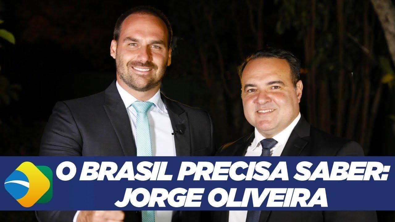 O BRASIL PRECISA SABER: Jorge Oliveira