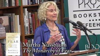 """Martha Nussbaum, """"The Monarchy of Fear"""""""