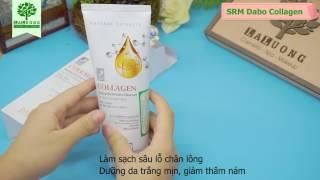 Sữa rửa mặt Dabo Collagen Hàn Quốc