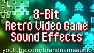 8-Bit Retro Video Game Sound Effects