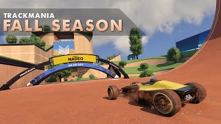 NEW Fall Campaign in Trackmania 2020 - All Author Medals Speedrun