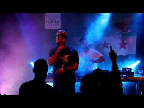 Salah Edin - Horr live @ HipHop Benefit for Syria, 06-02-2013