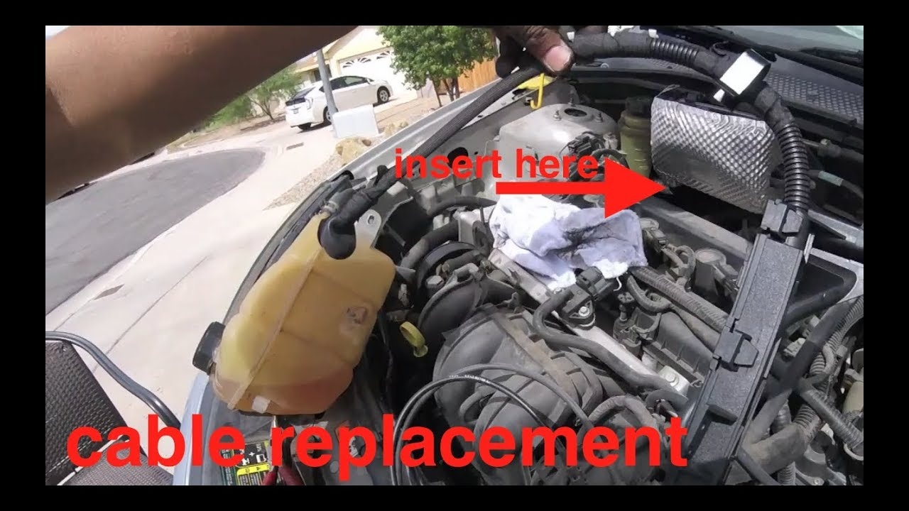 hight resolution of why i love ford battery starter cable replacement ford fuctus focus fix it angel