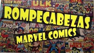 """""""Rompecabezas Marvel Comics"""" - 3D Puzzle Channel"""