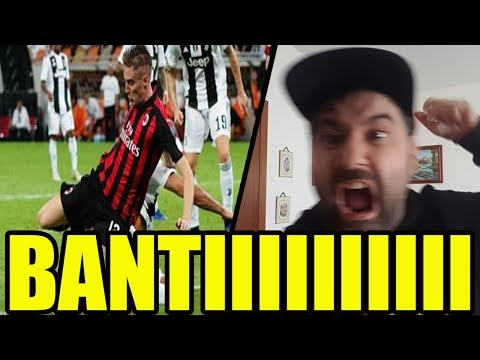 BANTI RADIATO (la Juve ruba?) || Juventus - Milan 1-0 [Supercoppa Italiana]