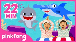 Baby Shark Dance and more  +Compilation  Best Sea Animal Songs  Pinkfong Songs for Children