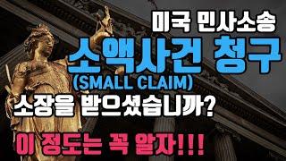미국 민사소송, 소액사건(Small Claim) 절차 …