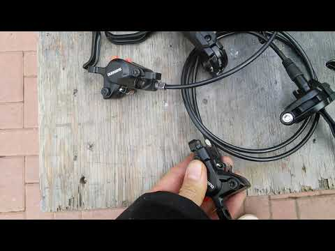 9f20a000185 Shimano BR - M505, BR-M395 , SLX & XT brakes - YouTube