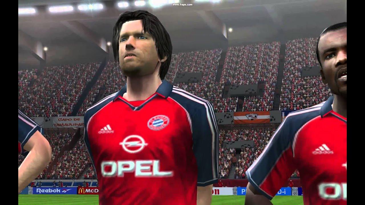 18f58614 PES6 Bayern Munchen champion 1998 UEFA cup - YouTube