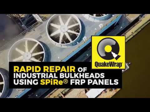 SPiRe® FRP Panels Repair Steel Bulkhead