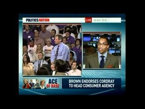 Alan Grayson:  Wall Street Fears Elizabeth Warren. She Can