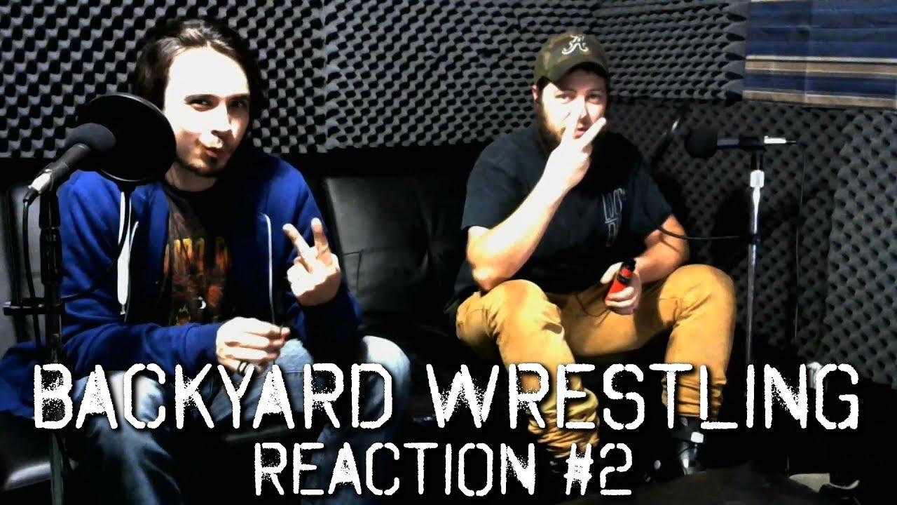 the twa show backyard wrestling reaction 2 youtube