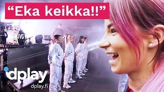 Fitnesspäiväkirja2020 | Tinze hyppää JVG:n keikkabussiin! | Dplay.fi