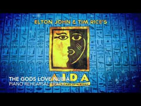The Gods Love Nubia - Aida - Piano Accompaniment/Rehearsal Track