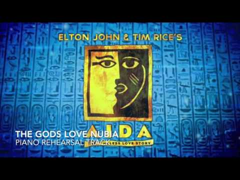 The Gods Love Nubia - Aida - Piano Accompaniment/Rehearsal Track