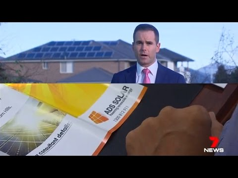 ADS Solar in 7 News Media: Solar Panel System installation in Australia