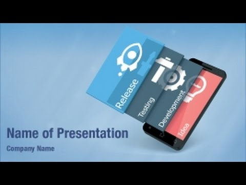 Mobile app development powerpoint video template backgrounds mobile app development powerpoint video template backgrounds digitalofficepro 01267v toneelgroepblik