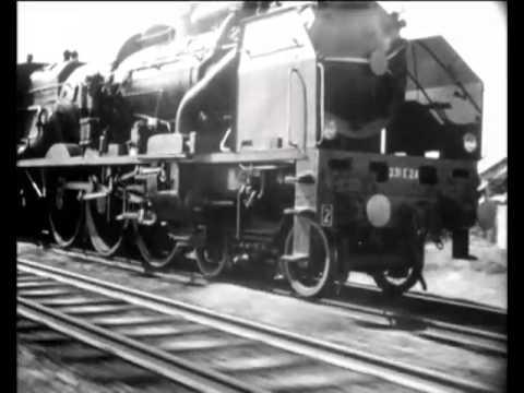 """Pacific 231"" 1949 movie: Jean Mitry-music: Arthur Honegger  original !"