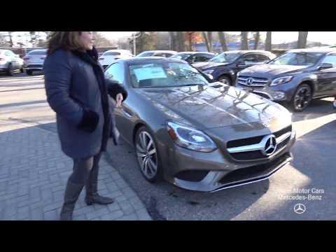 2019 Mercedes-Benz SLC300 Convertible video review with Tina