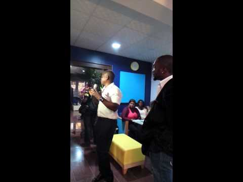 Video of Bankole Opashi speaking at the official opening of Bodyline Wellness Center