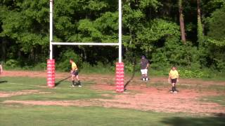 Kansas City Blues Rugby vs Mystic River Rugby Highlights Spring 2015