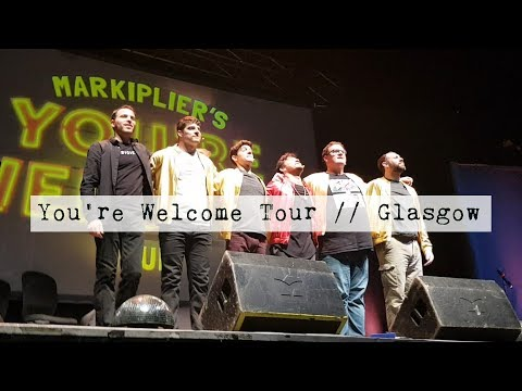Markiplier's You're Welcome Tour // GLASGOW VLOG