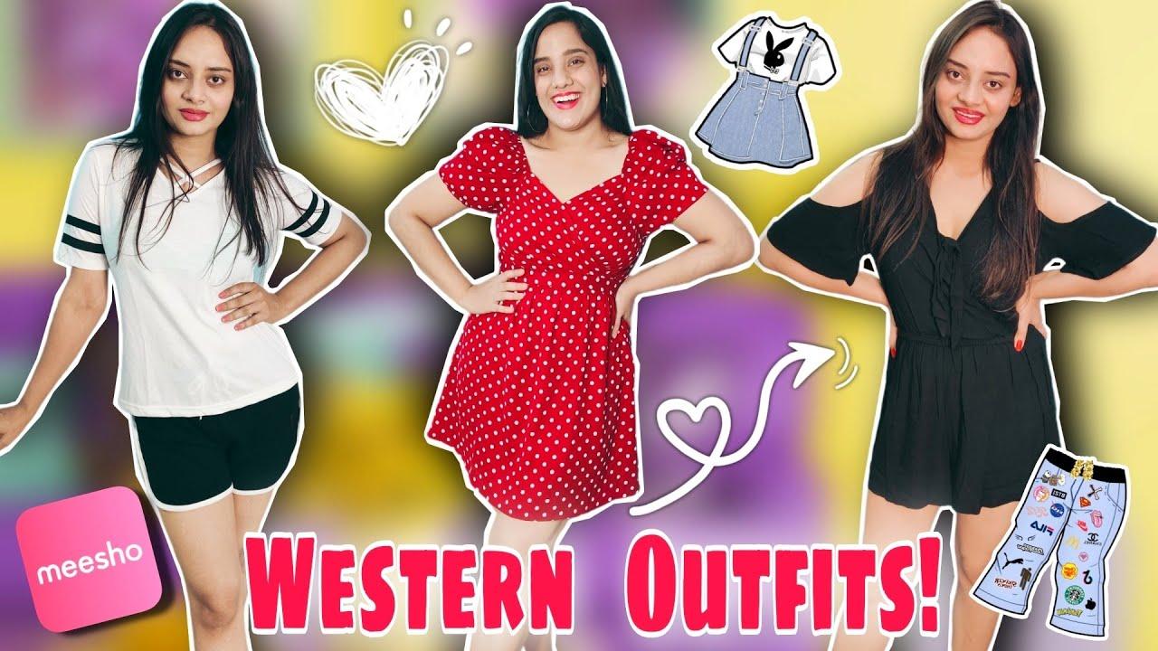 *MEESHO HAUL* | MEESHO Western Wear Haul | Meesho Bottom Wear | Meesho Top & Dress Haul