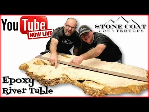 How to Build a Table with Epoxy
