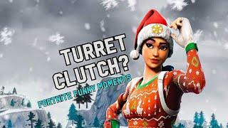 Turret Clutch?!! | Fortnite Funny Moments | Squads Fails, Kills + More