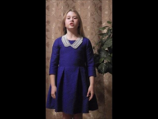 Изображение предпросмотра прочтения – АлинаКовалёва читает произведение «Колыбельная песня Асе» М.И.Цветаевой