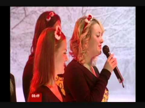 Rock Choir - BBC Breakfast on Christmas Eve