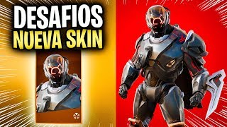 How TO COMPLETE ALL THE CHALLENGES NEW SKIN THE SCIENTIFIC AMETOTHETIST FORTNITE SEASON 10