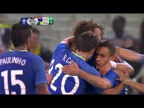 Сборная Бразилии разгромила Австралию, Жулиано отдал голевой пас