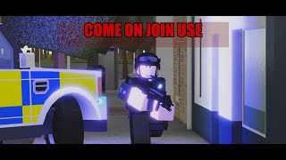Roblox-Royal Irish Constabulary Rekrutierungsanzeige!