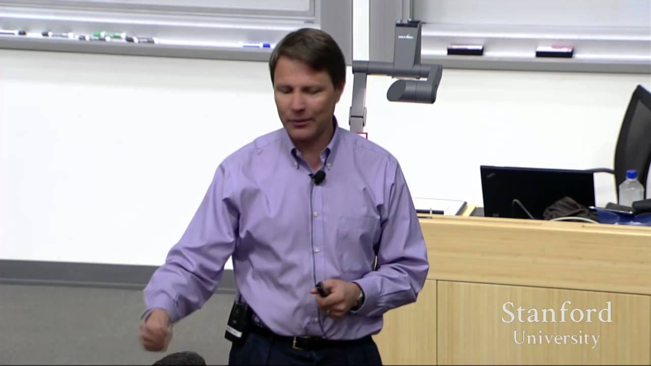 Stanford University Lecture on Portfolio Management - YouTube