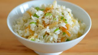 Dried Scallop and Egg White Fried Rice (瑤柱蛋白炒飯) - Popular Chinese Restaurant Dish